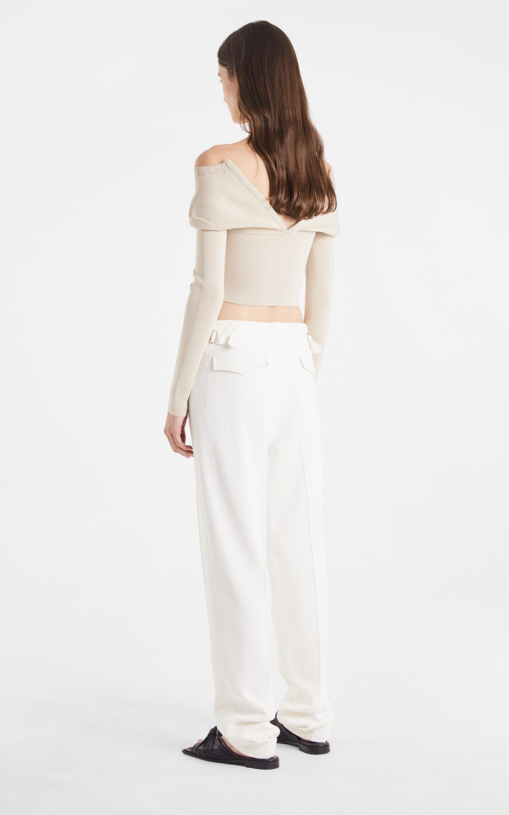 Knitwear | OPEN NECK BUSTIER