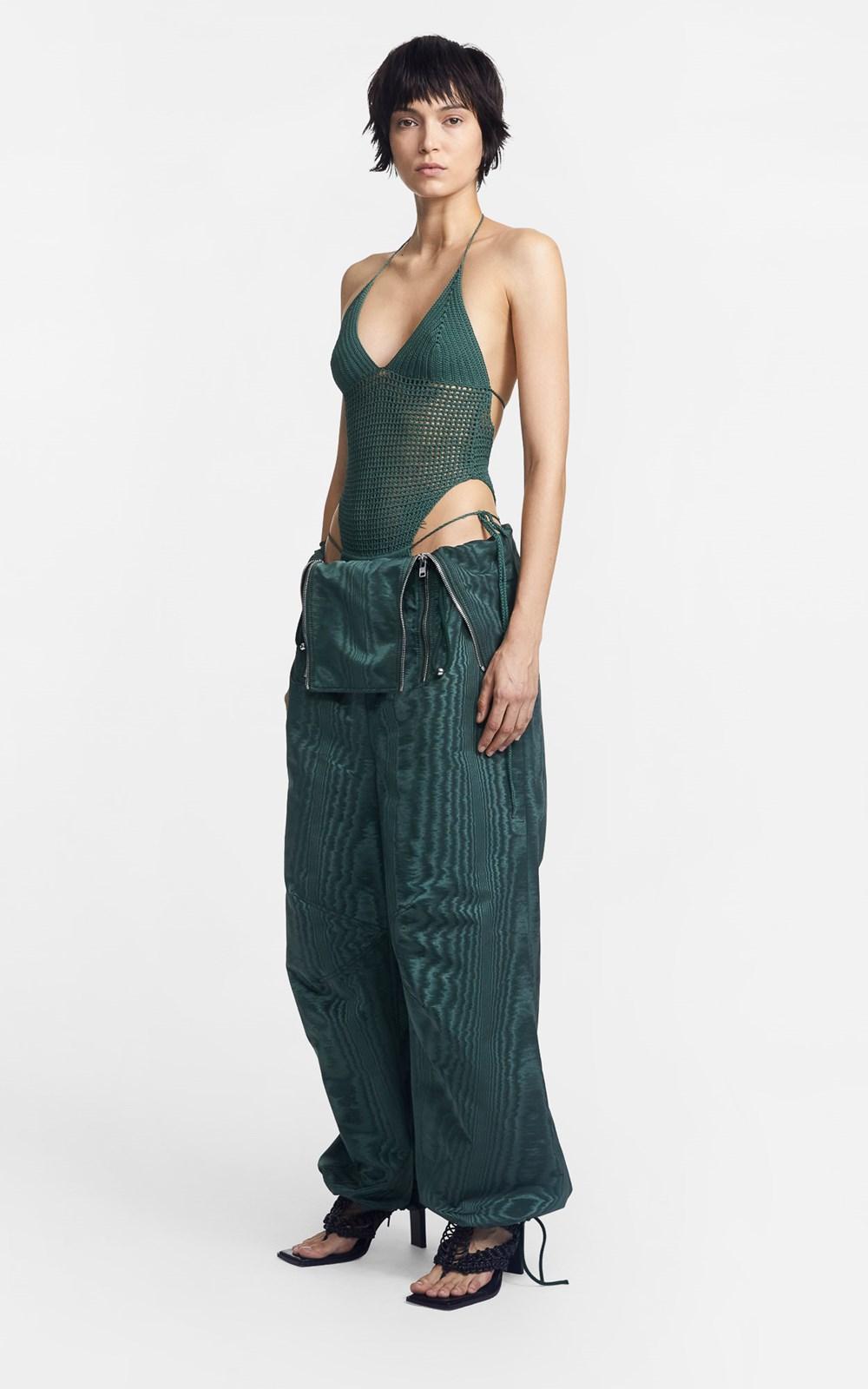 Knitwear | CROCHET TIE BODYSUIT