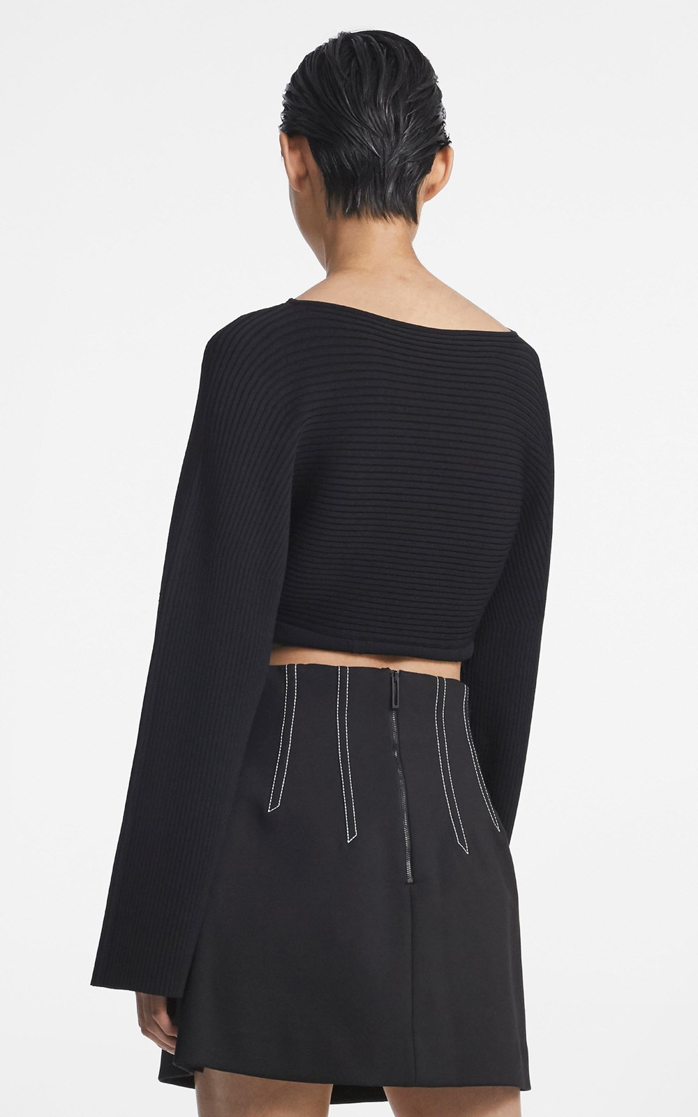 Tops  | COCOON CORSET SWEATER