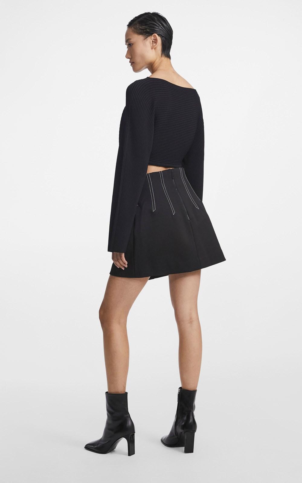 Knitwear | COCOON CORSET SWEATER