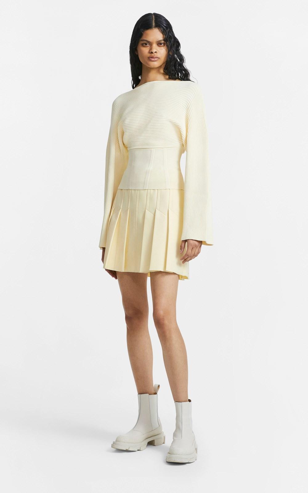 Knitwear   COCOON CORSET SWEATER
