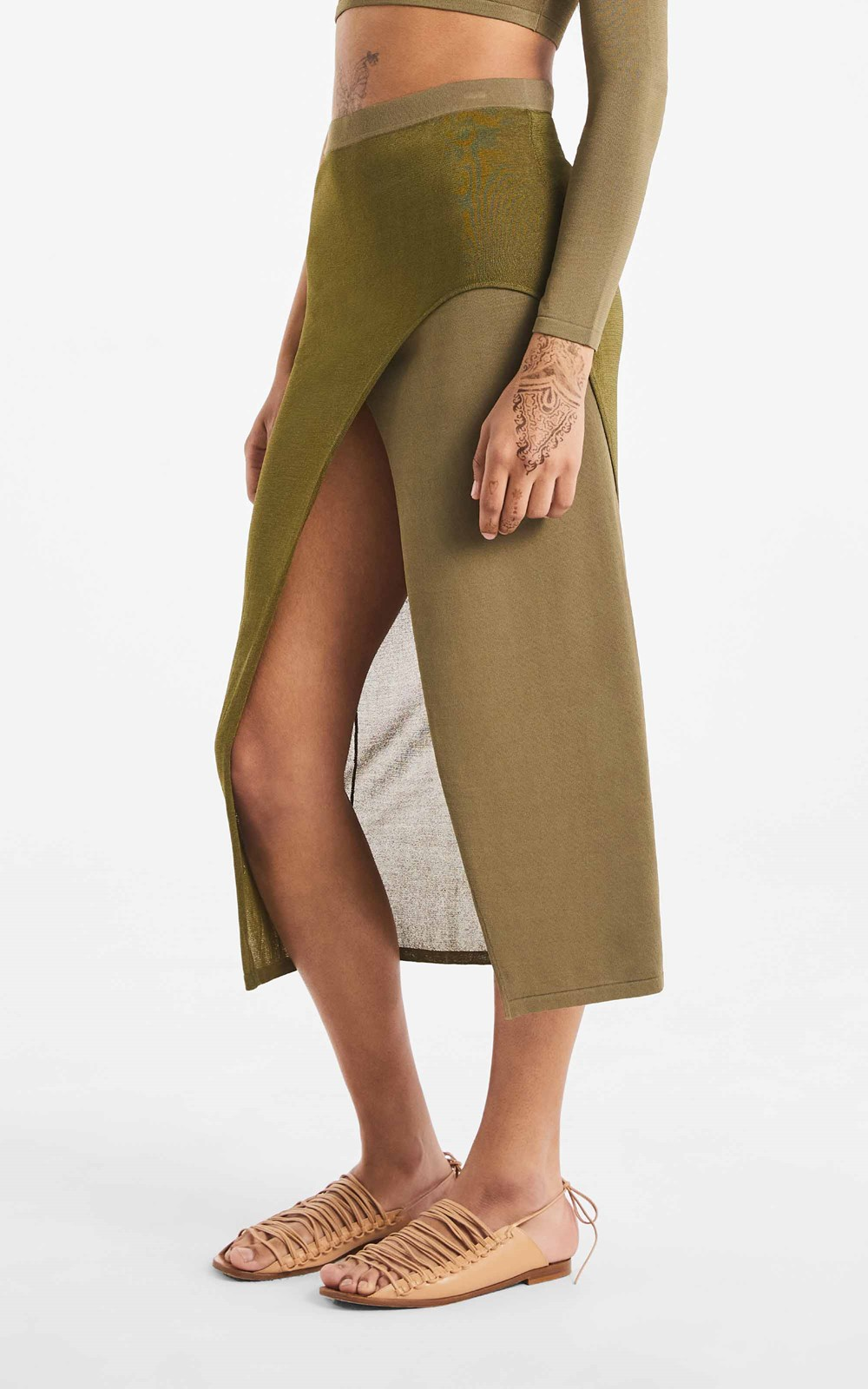 Knitwear | SHADOW INVERSE SKIRT