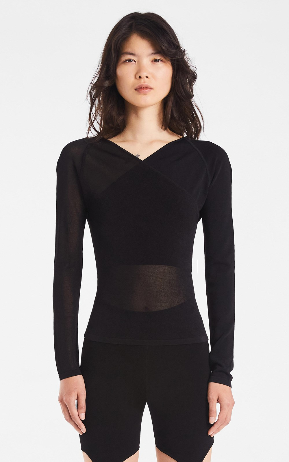 Knitwear  | SHADOW INVERSE TOP