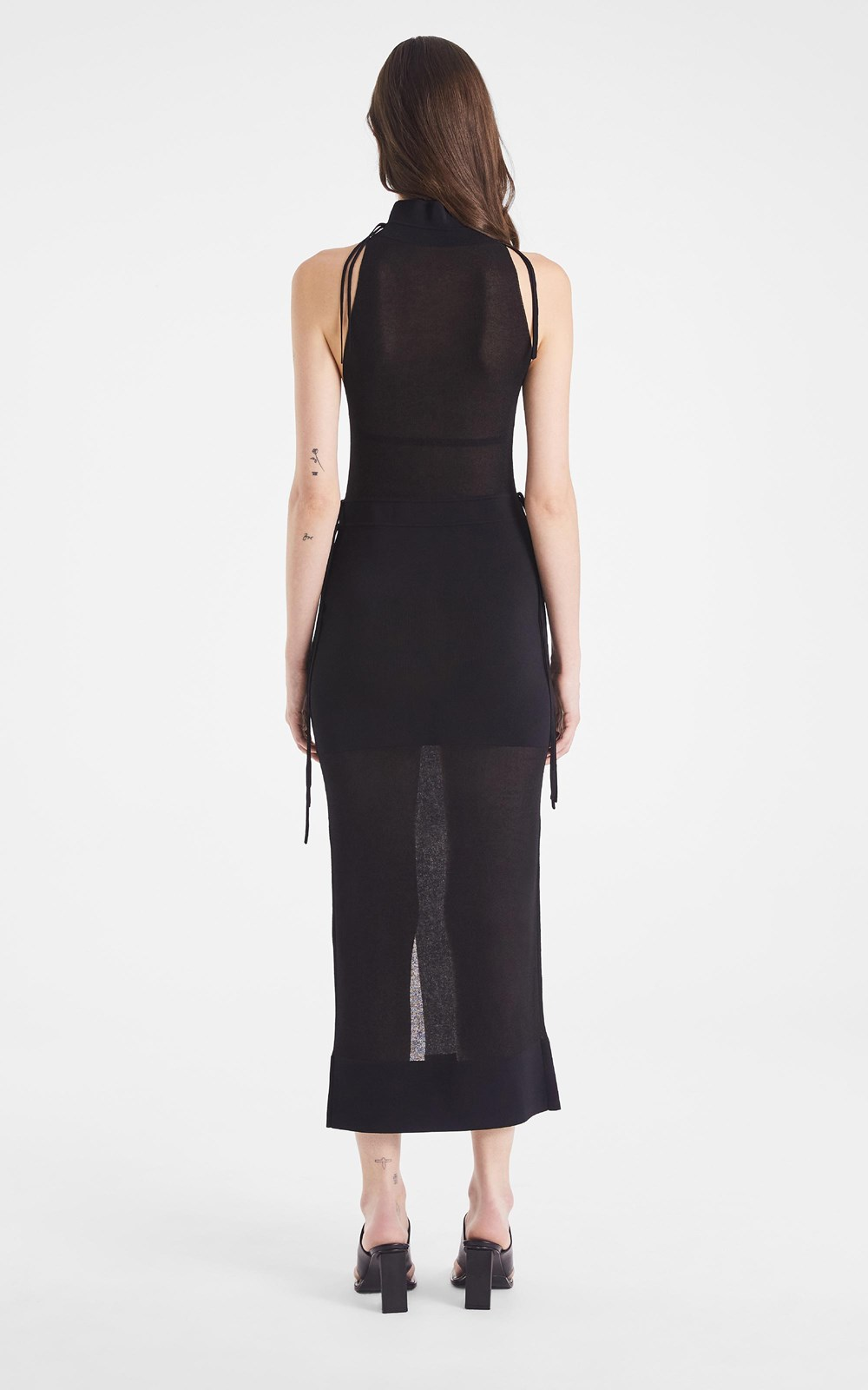 Knitwear  | SHADOW BLOCK DRESS