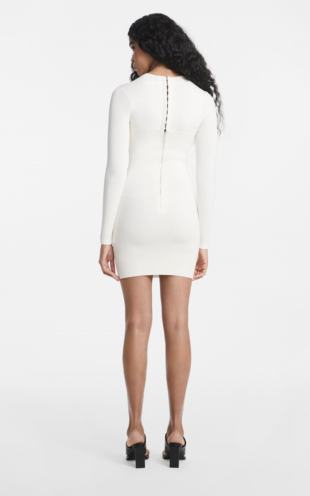 Knitwear  | OPEN NECK MINI DRESS