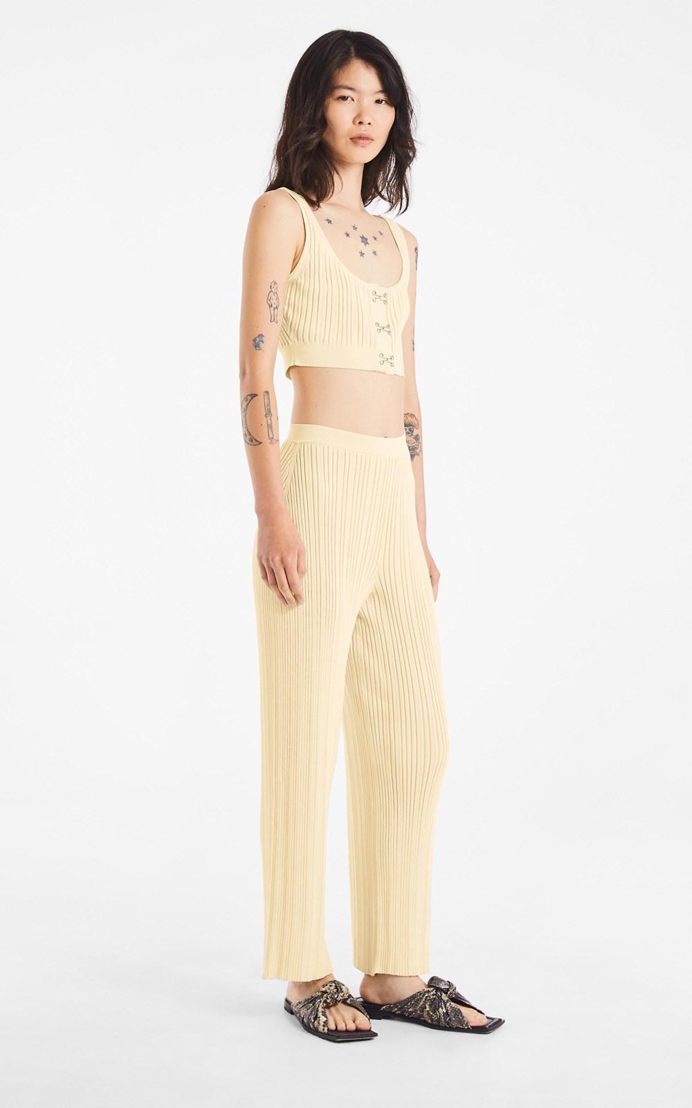 Knitwear | HOOK CROP TOP