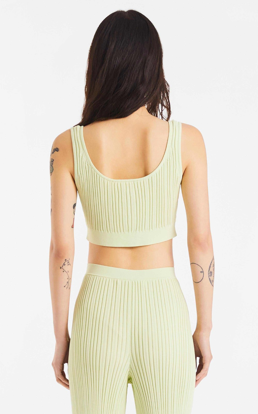 Knitwear | HOOK CROP TOP