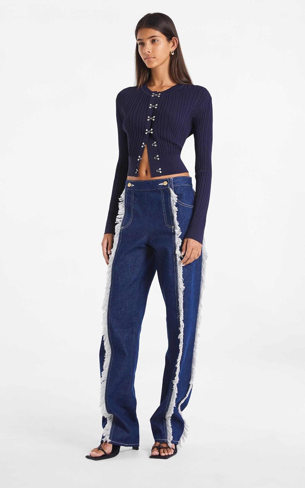Knitwear | HOOK RIB CARDIGAN