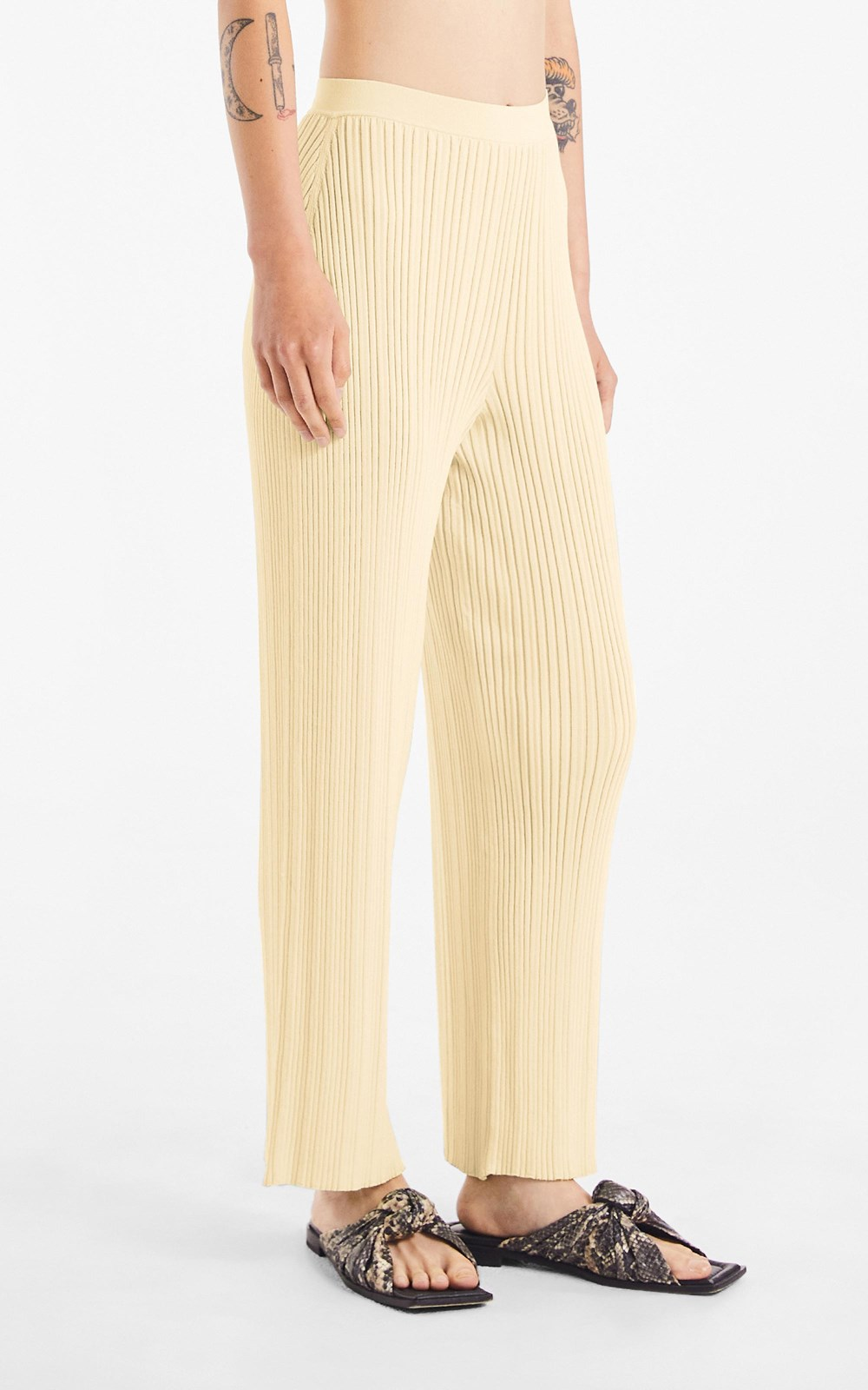 Knitwear | FLOAT RIB PANT