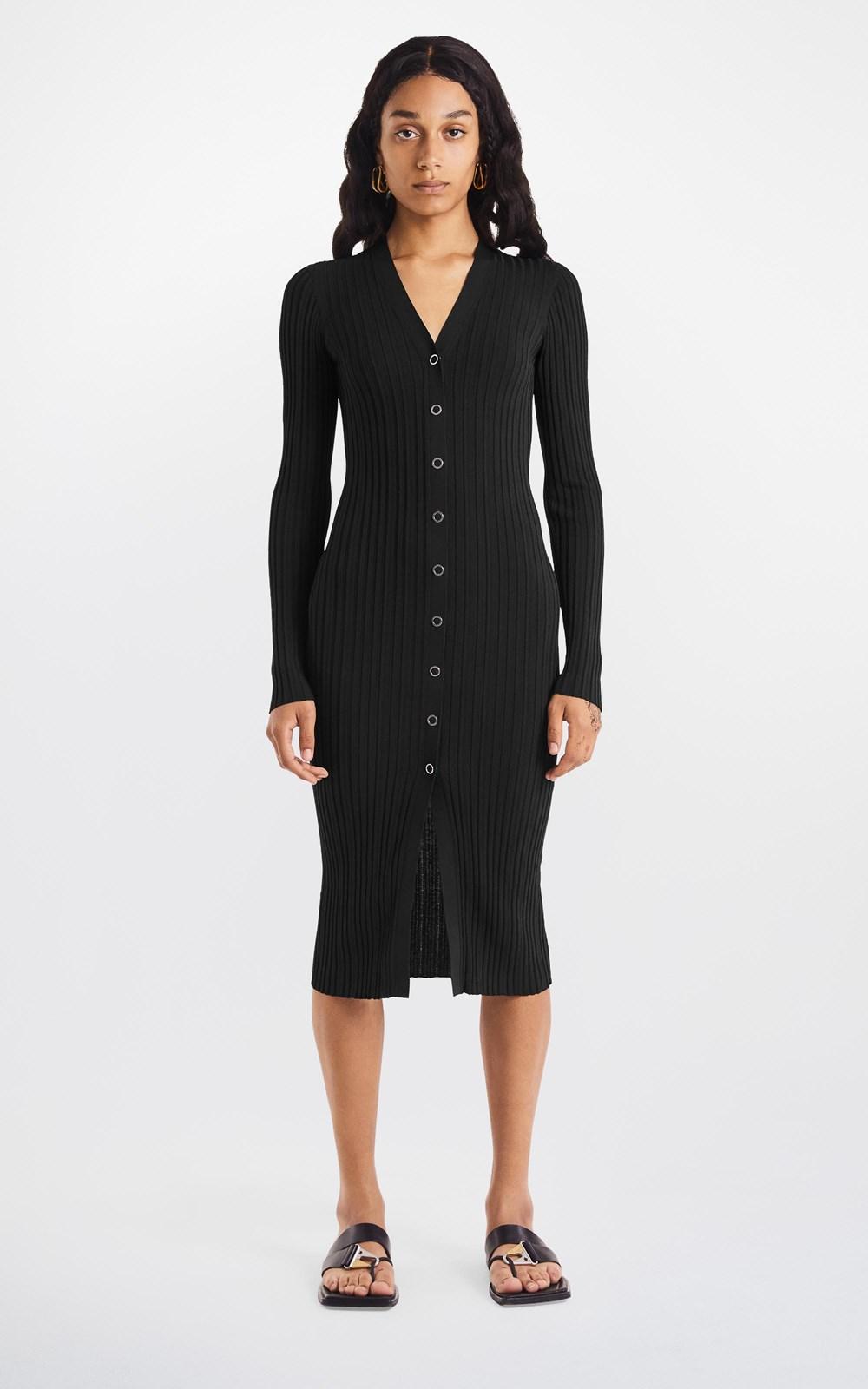 Dresses | FLOAT RIB MIDI DRESS