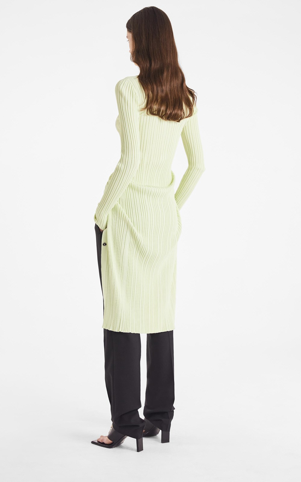 Knitwear | FLOAT RIB MIDI DRESS