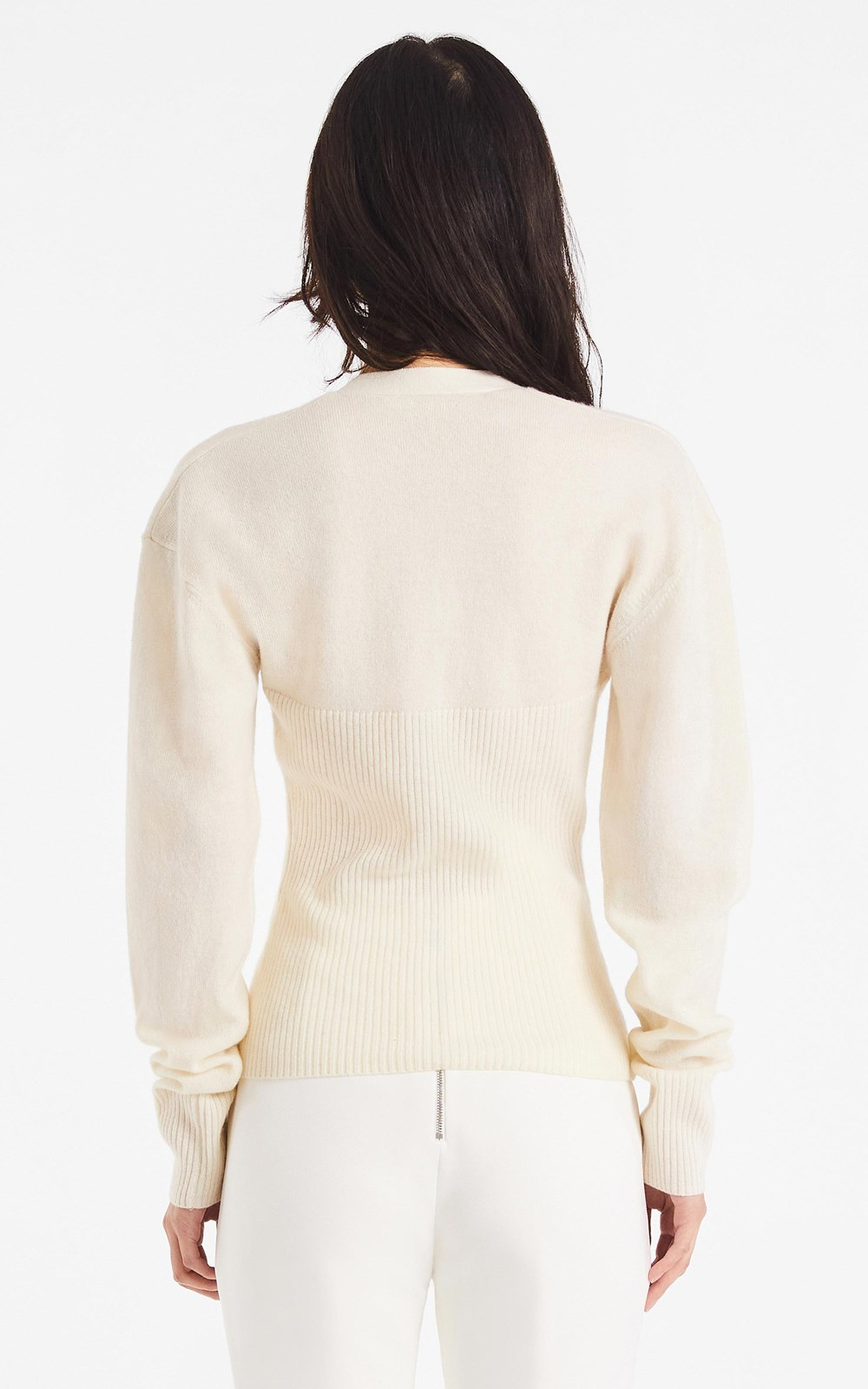 Knitwear | CASH WOOL HOOK SWEATER