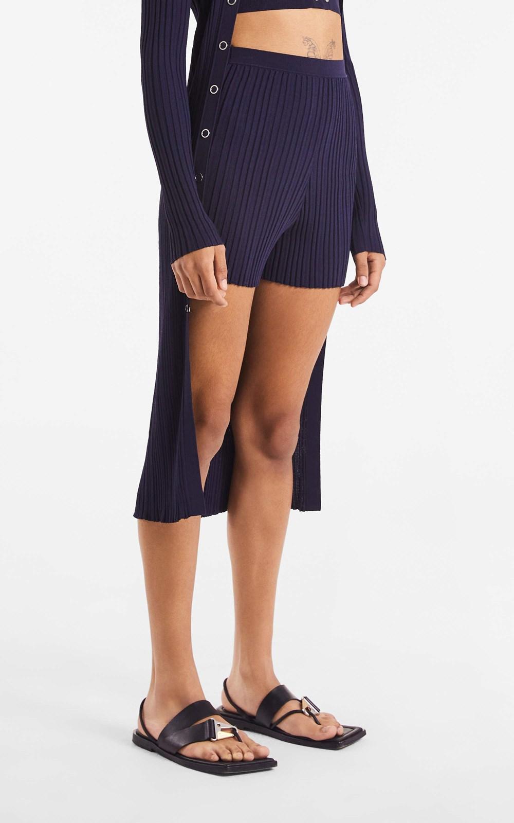 Knitwear | FLOAT RIB SHORT