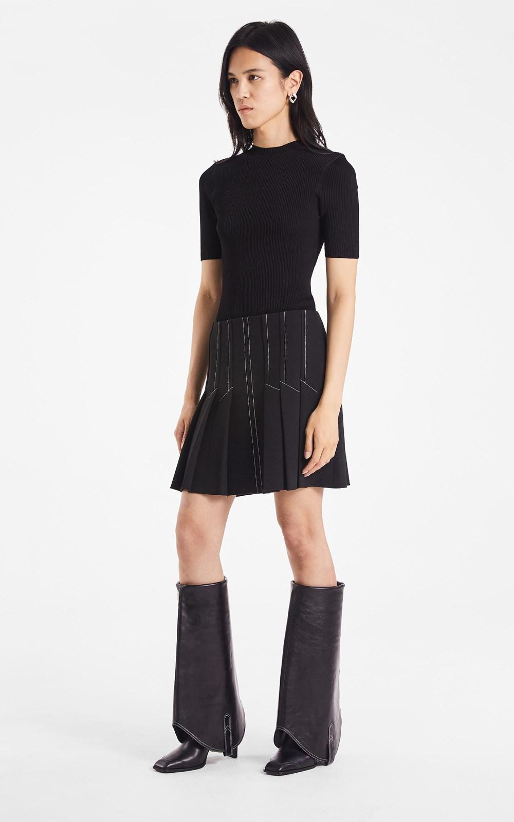 Knitwear | LUSTRATE RIB TEE