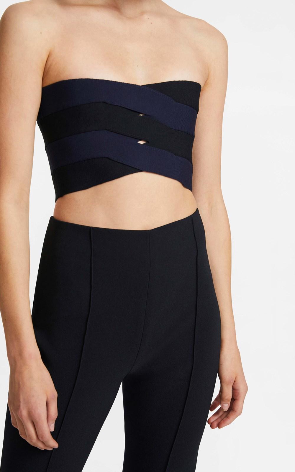 Knitwear | INTERLOCK BUSTIER