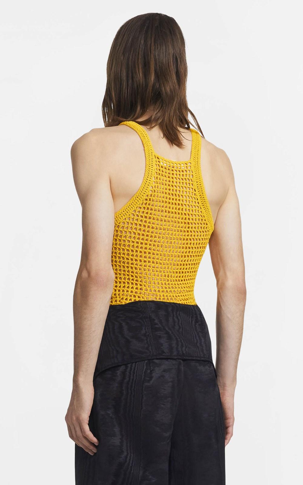 Knitwear  | CHAIN CROCHET TANK