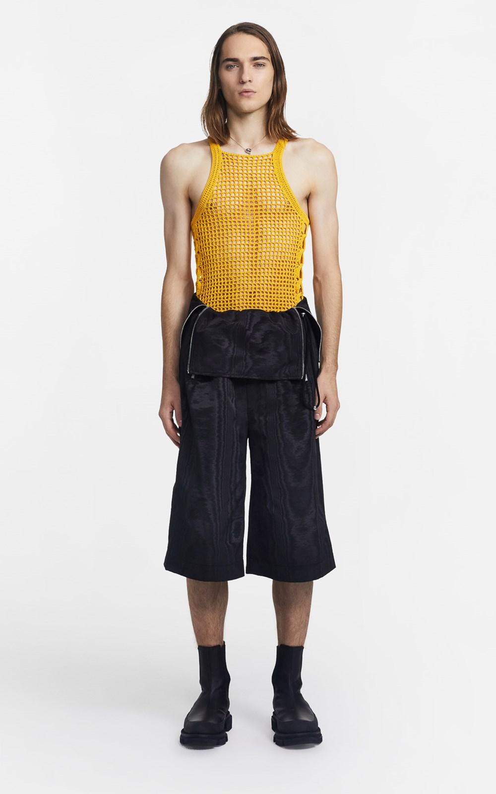 Knitwear   CHAIN CROCHET TANK
