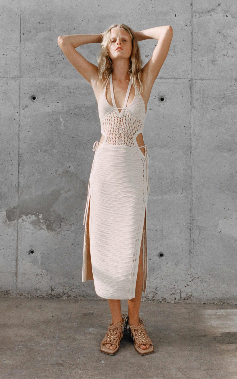 Knitwear | CROCHET TIE BUTTERFLY DRESS
