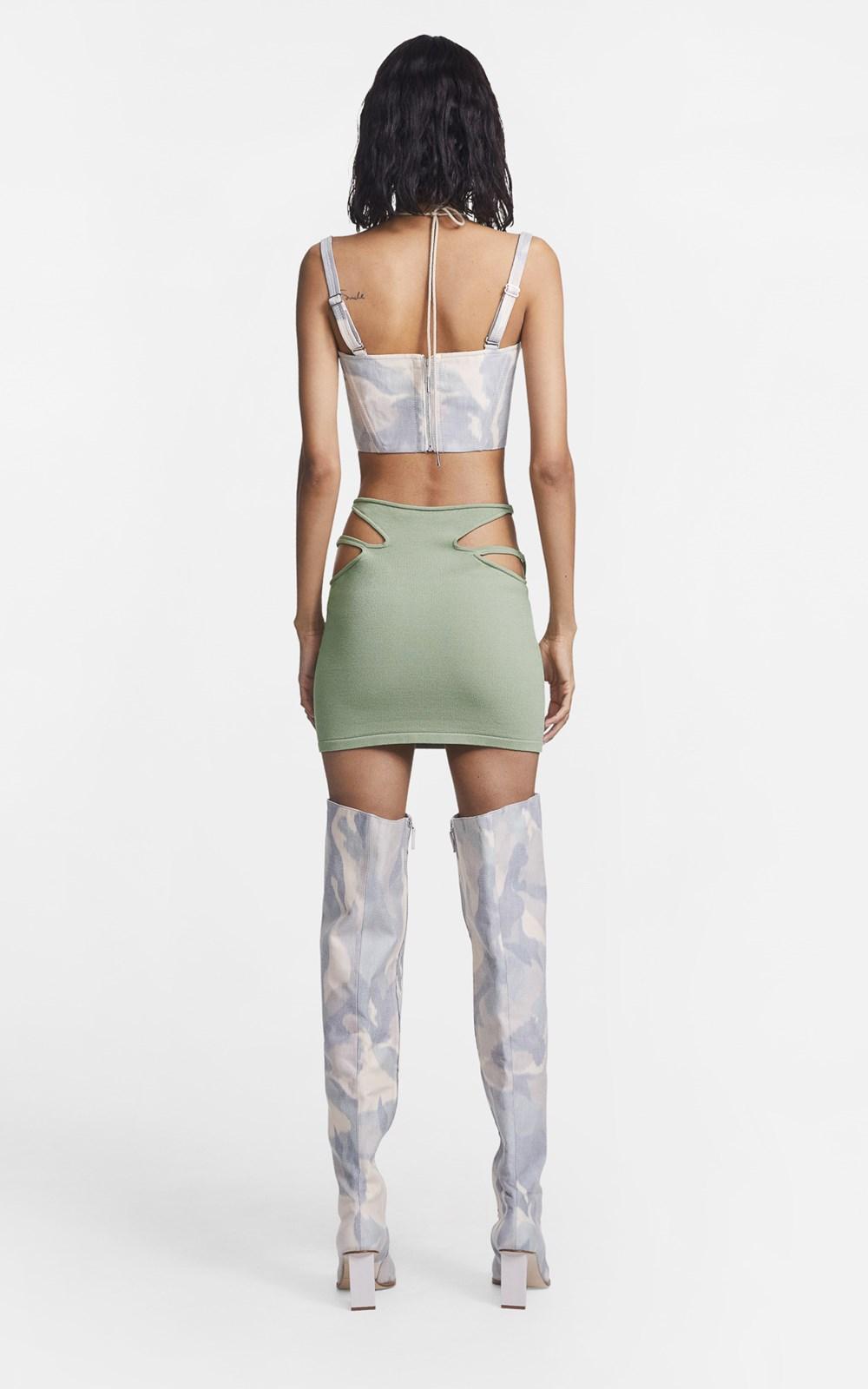 Knitwear  | HOSIERY TEARDROP SKIRT