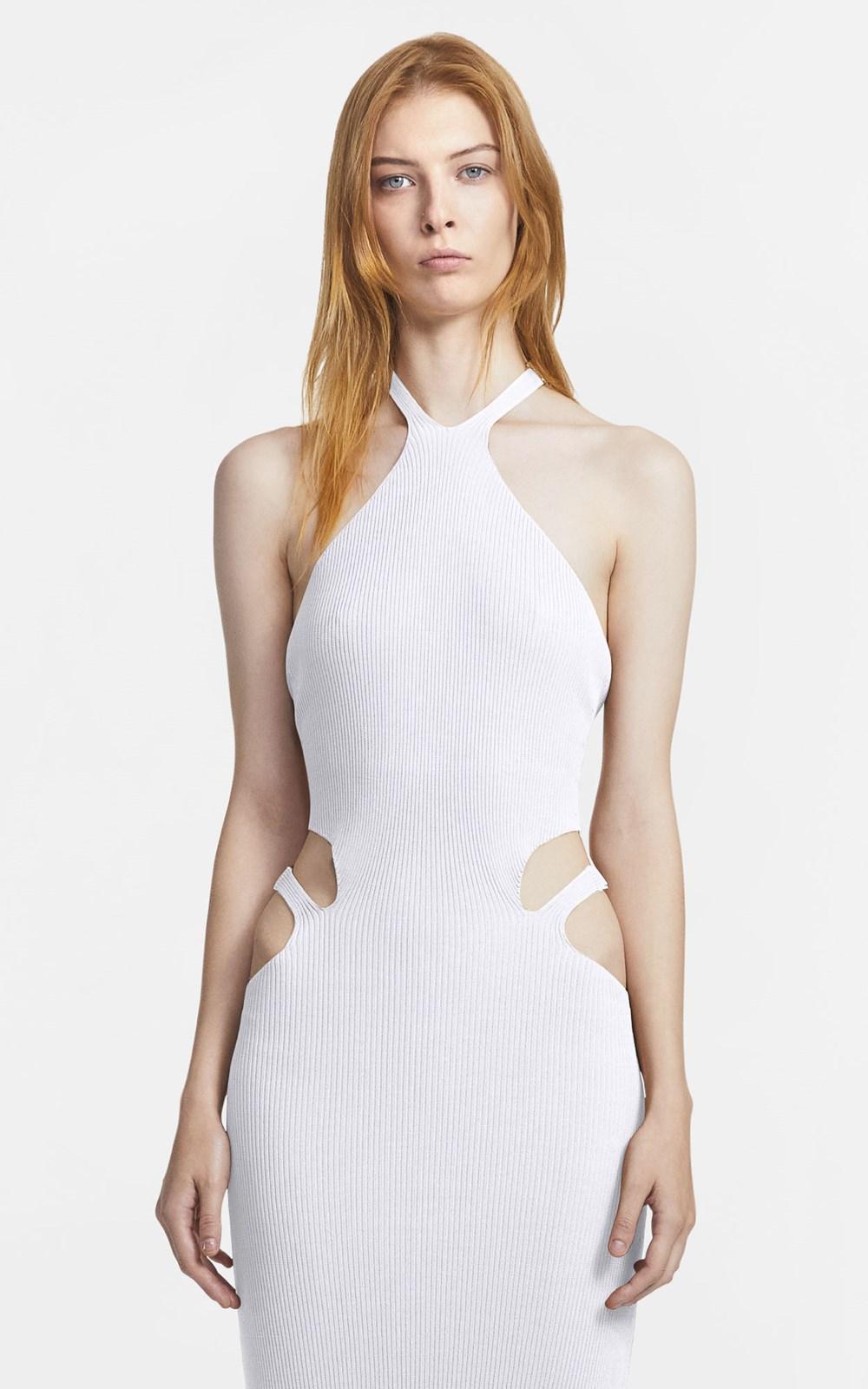 Knitwear   LUSTRATE FORK DRESS