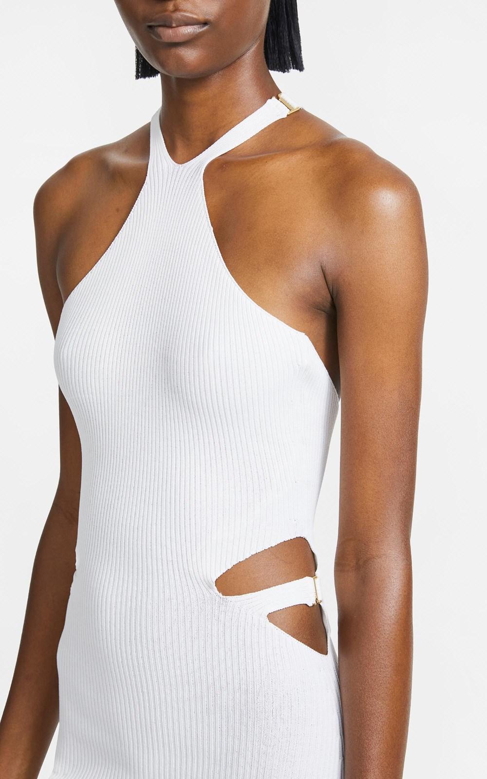 Knitwear | LUSTRATE FORK DRESS