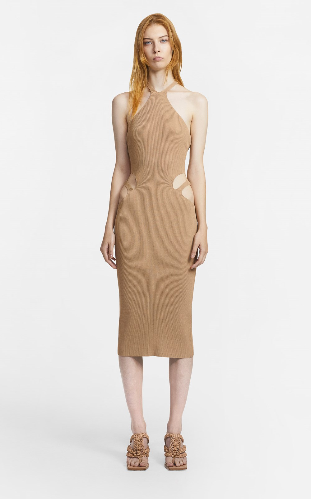 Knitwear | LUSTRATE FORK DRESS