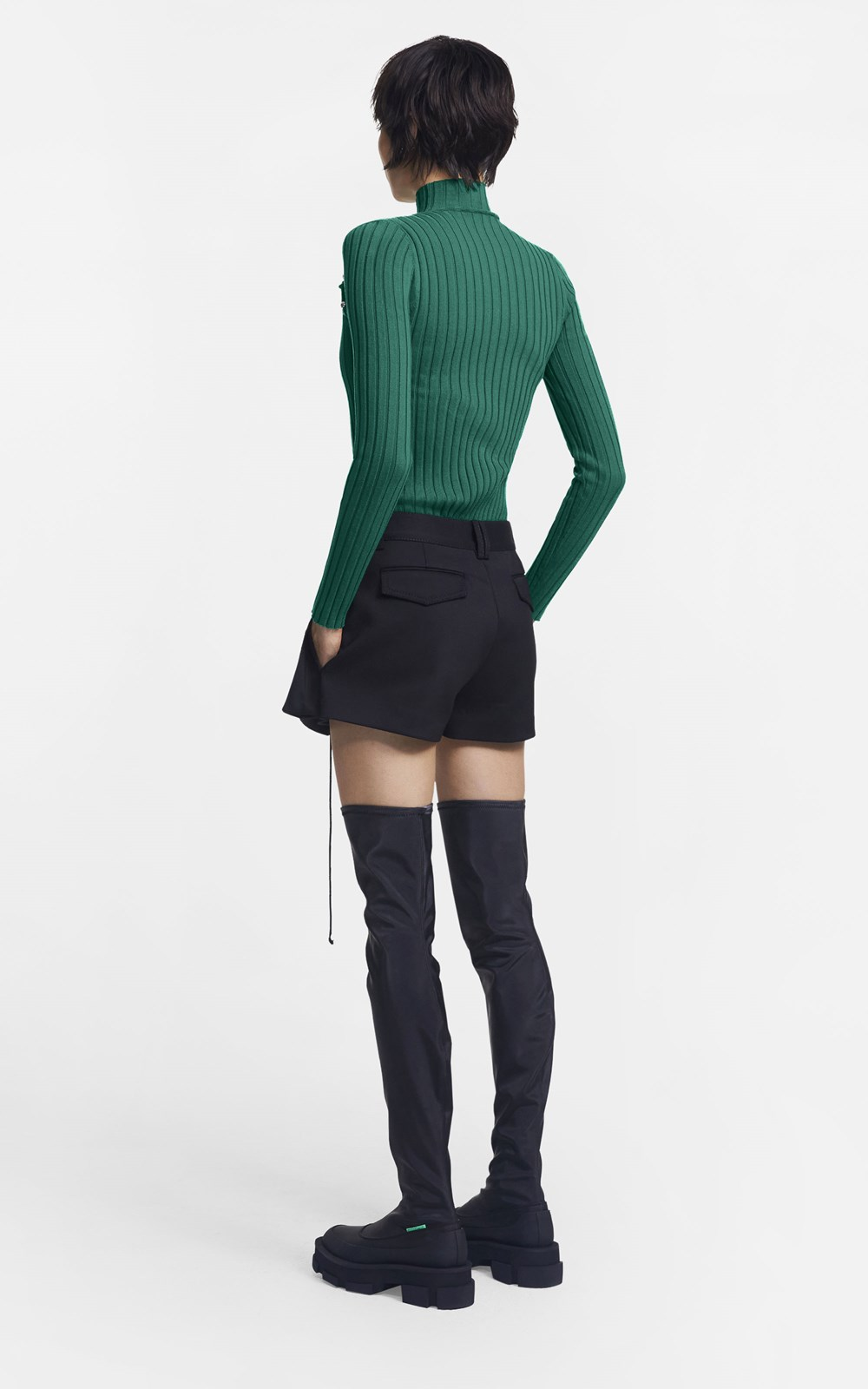 Knitwear | BEADED BRAID SKIVVY