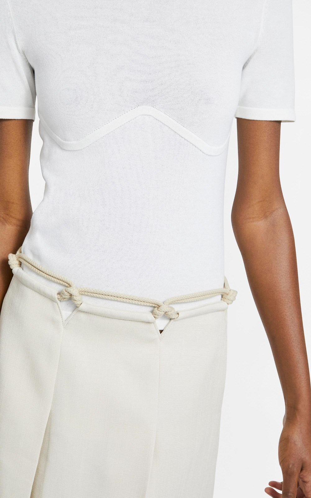 Knitwear | COTTON UNDERWIRE TEE