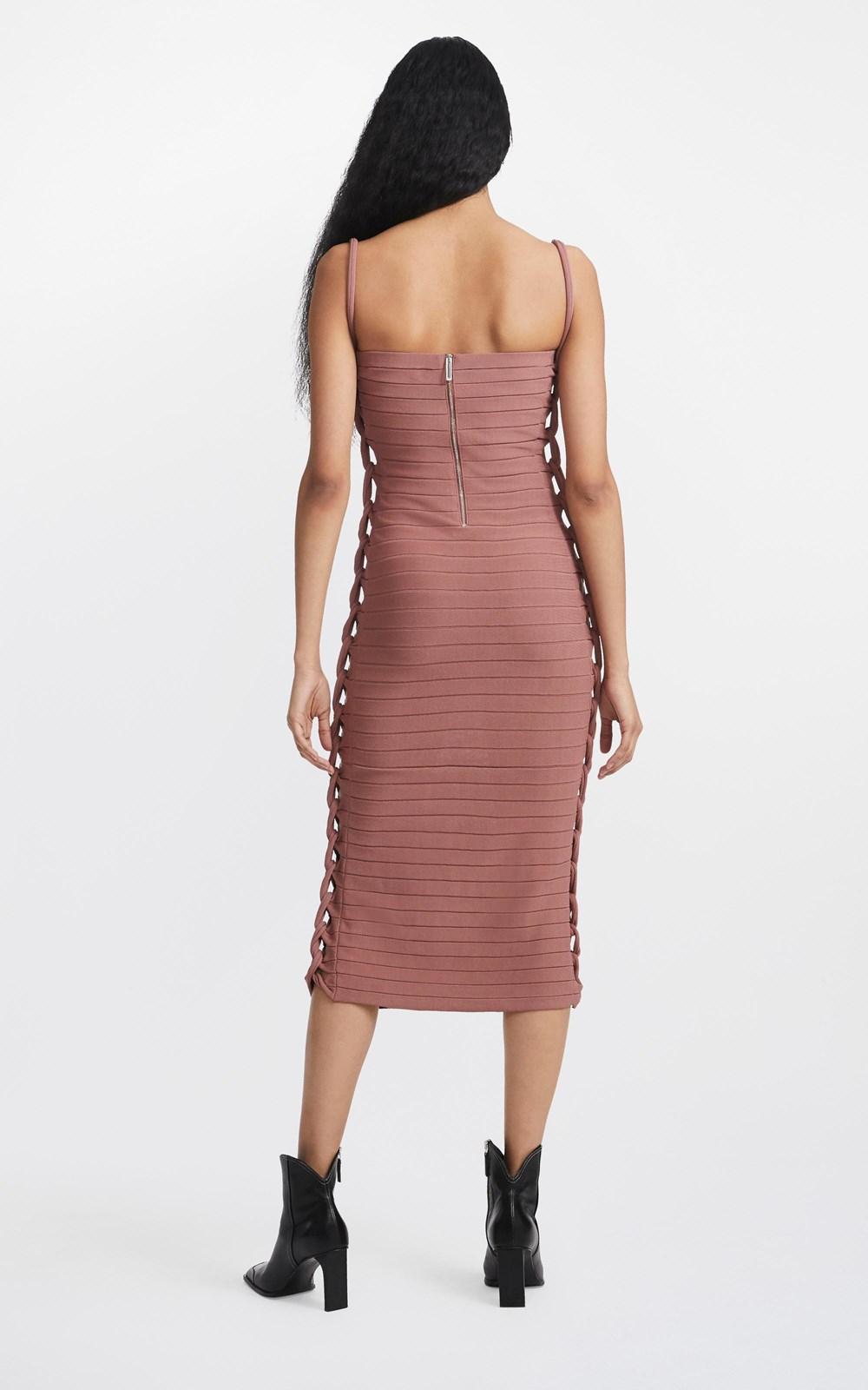 Dresses  | MIRROR BRAID STRAP DRESS