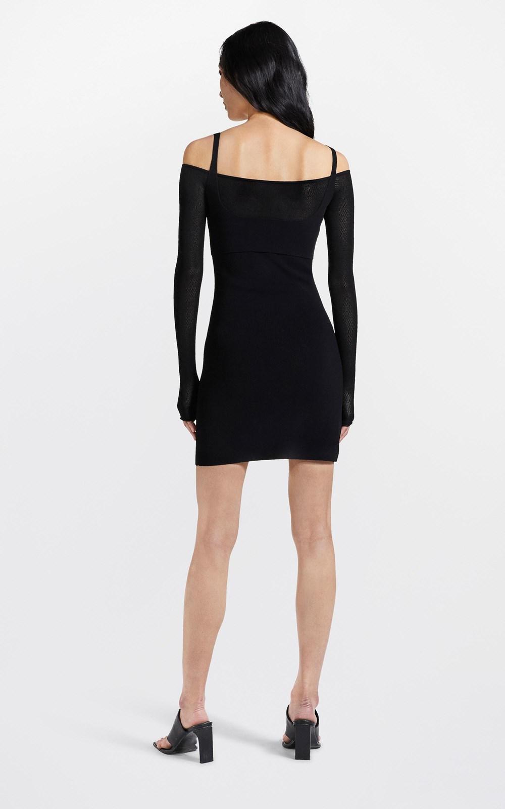 Dresses  | HOSIERY MESH DRESS