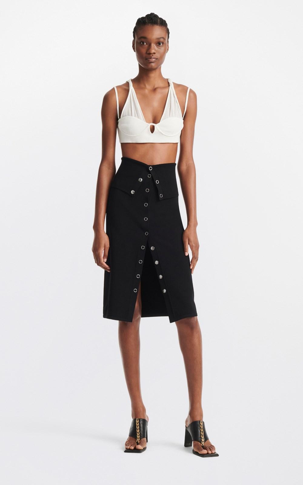 Skirts | HOSIERY PLACKET SKIRT