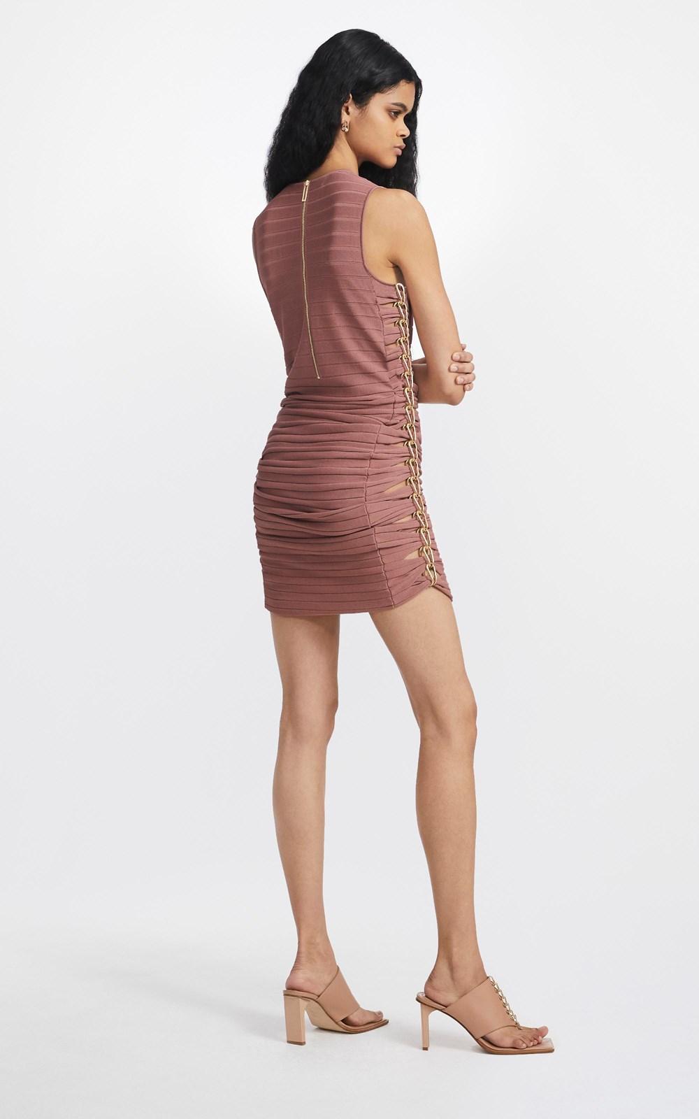 Dresses  | MIRROR CHAIN MINI DRESS