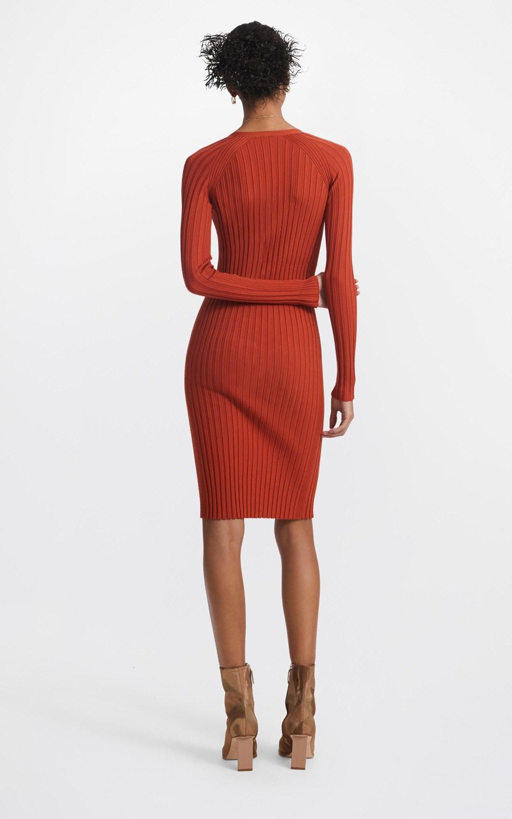 Dresses  | MERINO CARDIGAN DRESS