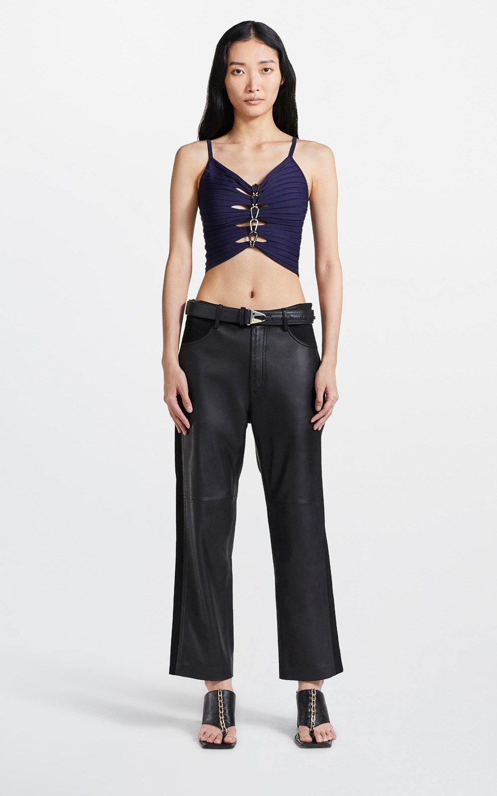 New    CENTRAL CHAIN CAMI TOP