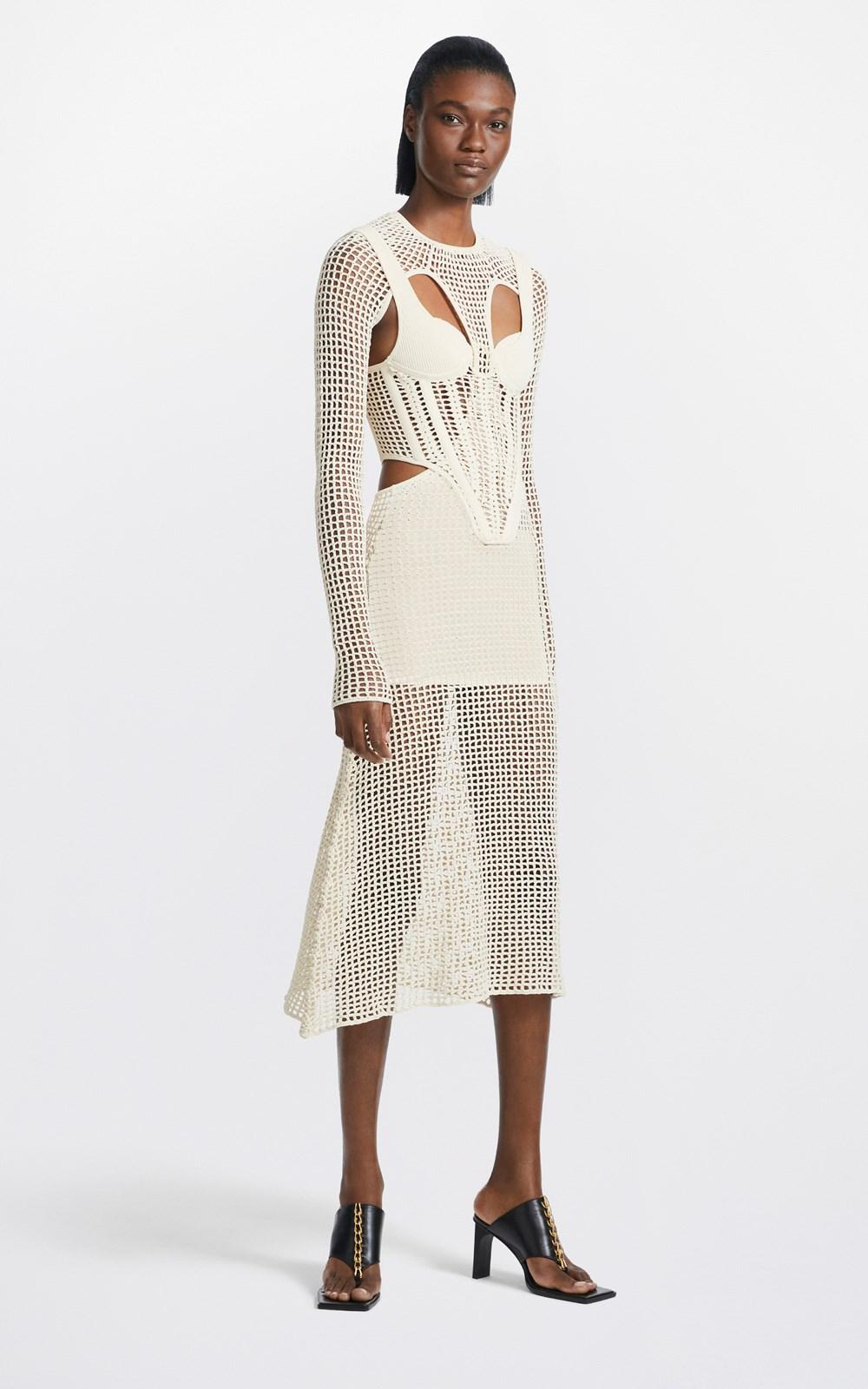 Knitwear | STIRRUP CROCHET DRESS