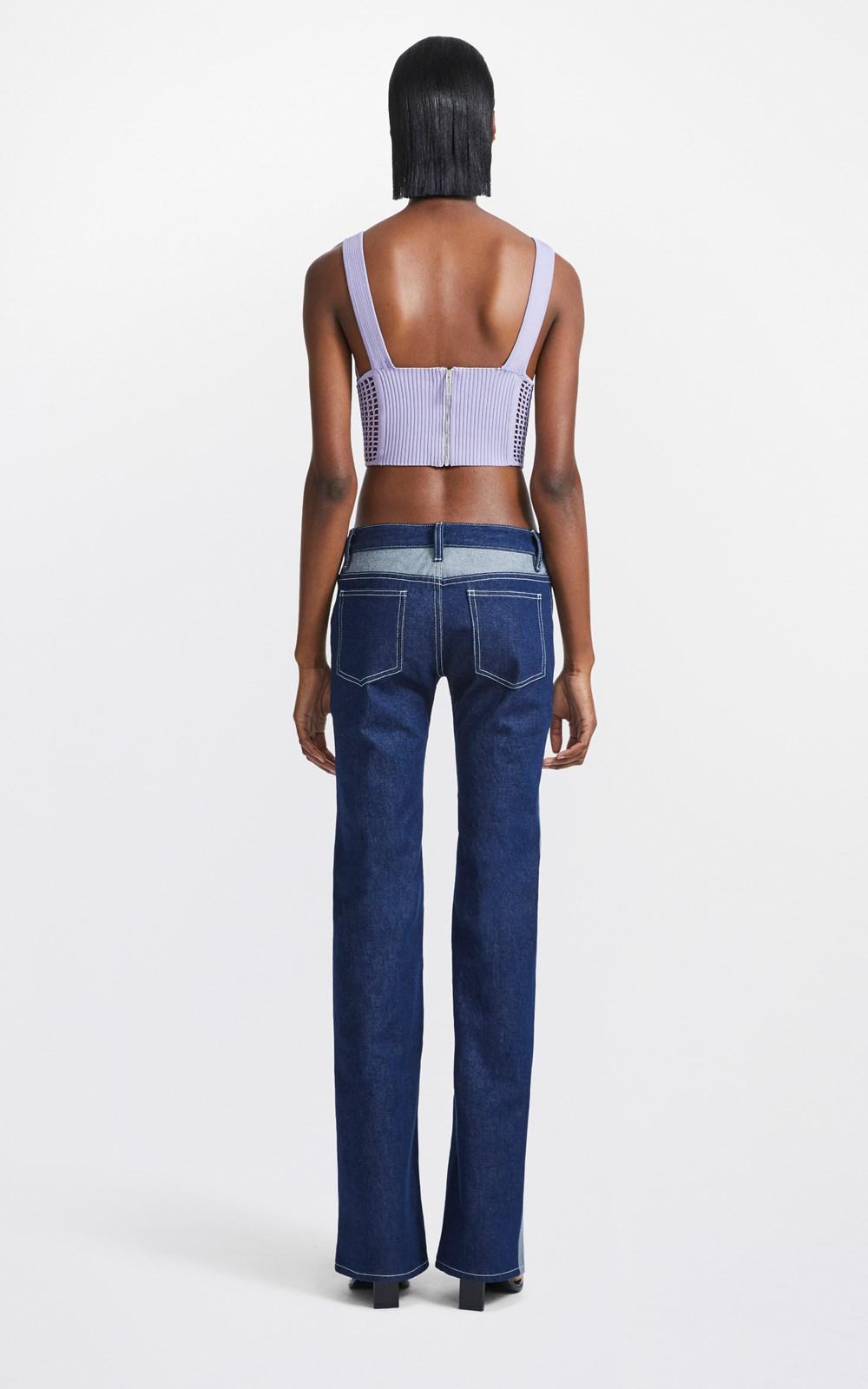 Knitwear  | CROCHET CORSET