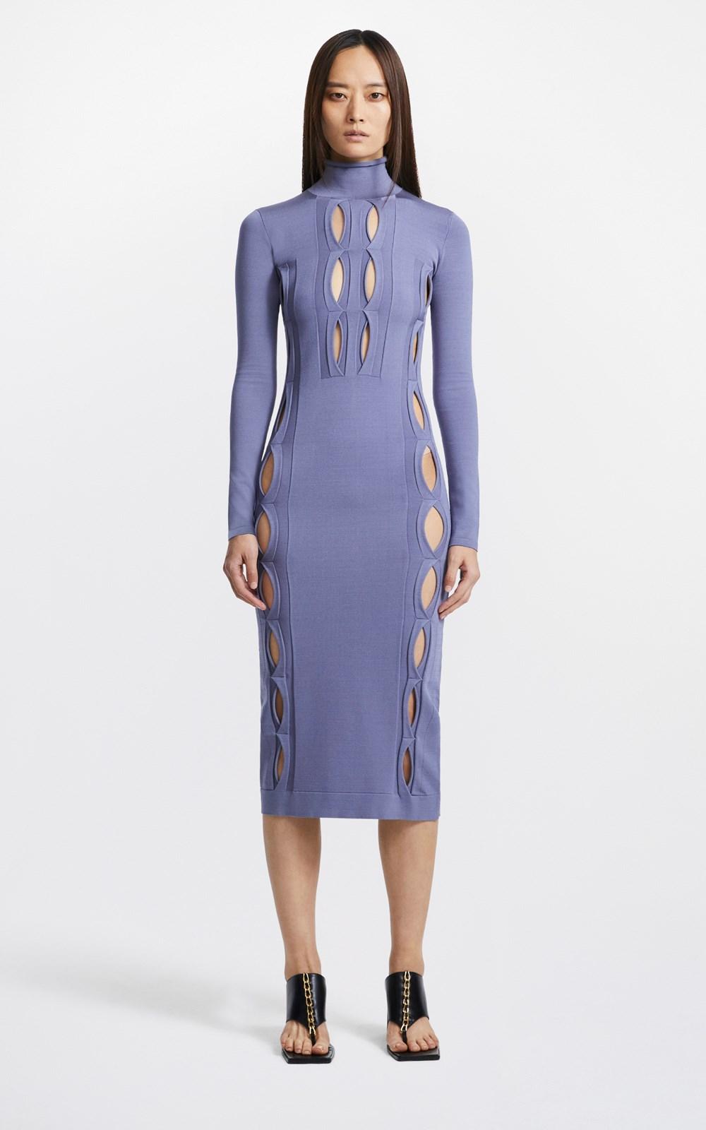 Knitwear | DOUBLE HOSIERY DRESS