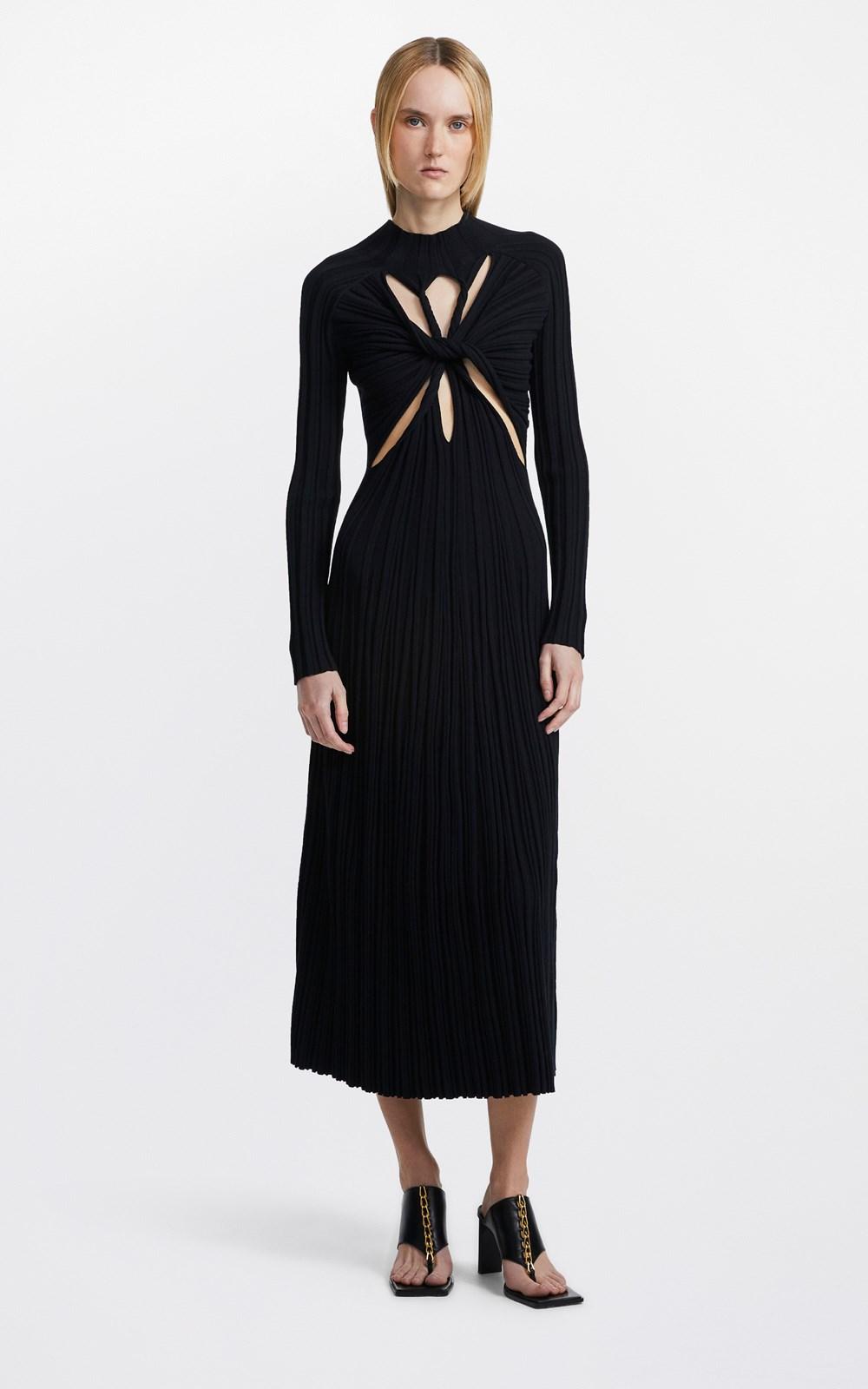 Knitwear | LUNG TWIST DRESS
