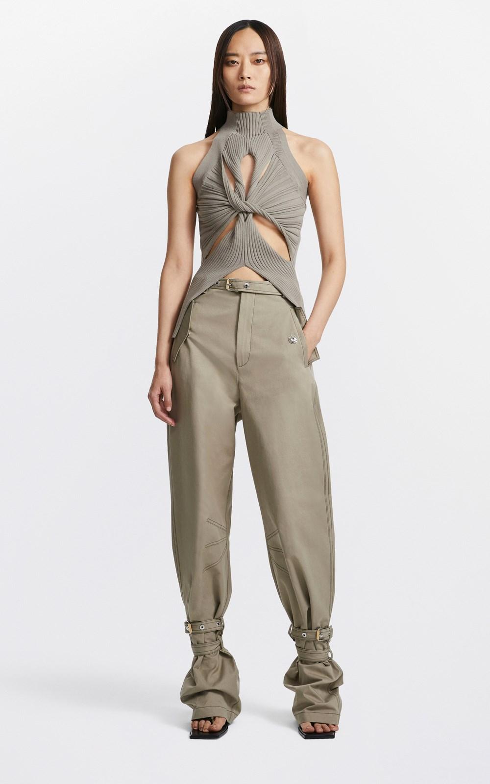 Knitwear | MUSCULAR TWIST TANK