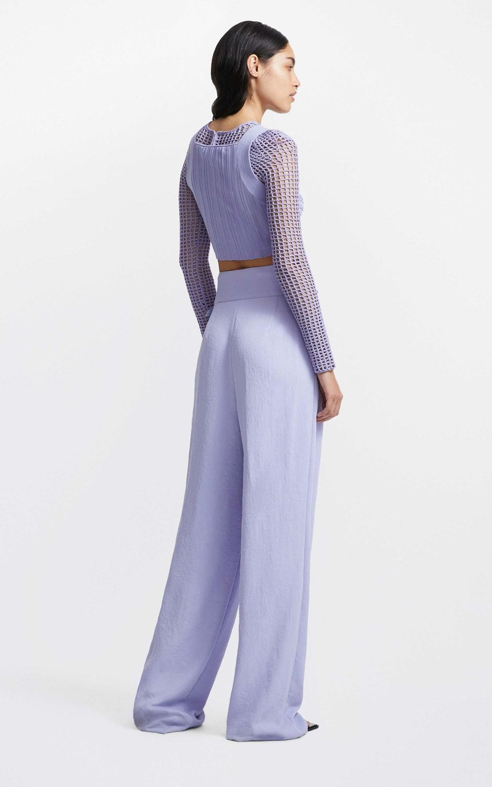 Knitwear  | LUNG TWIST BRALETTE