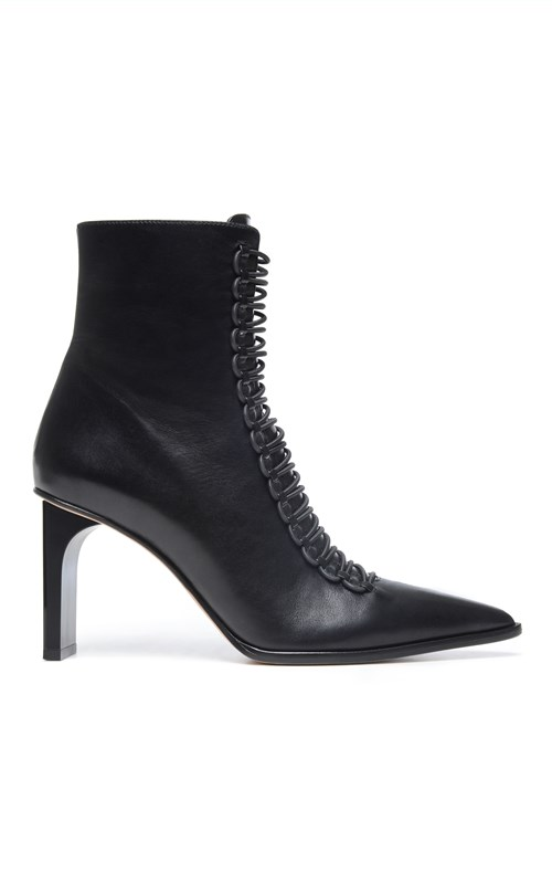 Accessories | LACED COIL HEELED BOOT