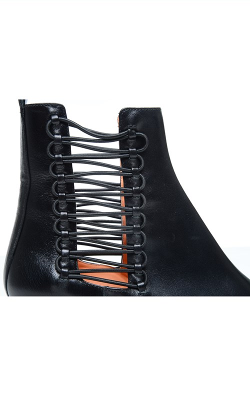 Accessories   LACED COIL CHELSEA BOOT