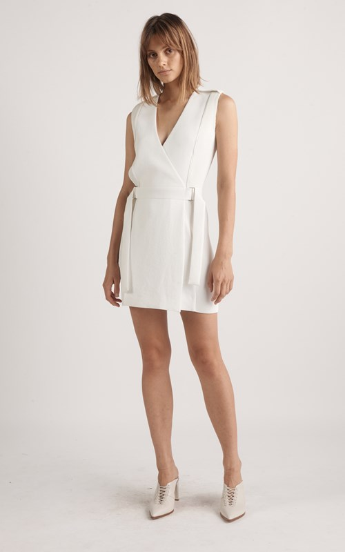 Dresses | CORRUGATED PLEAT MINI DRESS