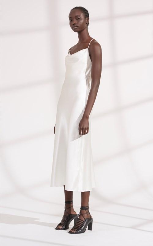 Dresses | BIAS WEAVE COWL DRESS