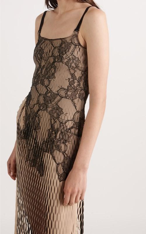 Dresses   EROSION LACE E-HOOK DRESS