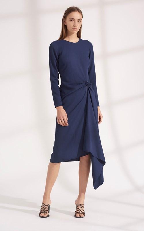 Dresses | PIERCED LONG SLEEVE DRESS