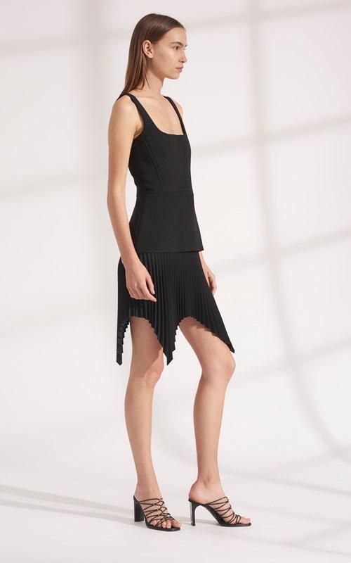Dresses   TRUSS PLEAT MINI DRESS
