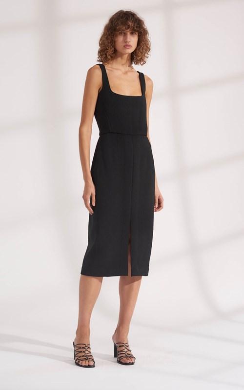 Dresses | TRUSS PLEAT CORSET DRESS