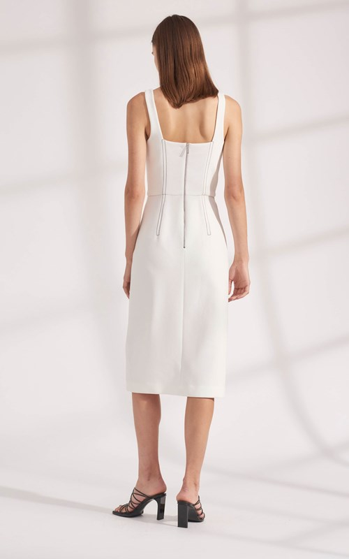 Dresses   TRUSS PLEAT CORSET DRESS