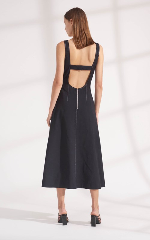 Dresses | PINSTITCH CORSET DRESS